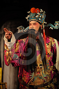 China Opera Man With Long Beard Royalty Free Stock Photography - Image: 14048427