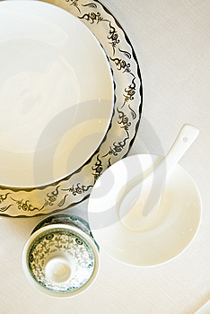 The Tableware  In China Royalty Free Stock Images - Image: 14048649