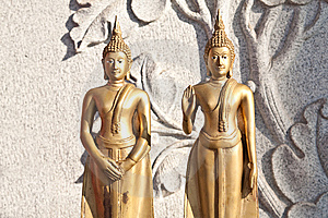 The Duo Buddha Stock Images - Image: 14048954