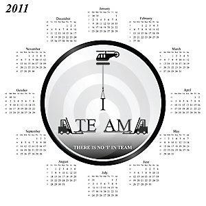 2011 Calendar Stock Images - Image: 14050974