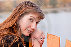 Lady In Black Royalty Free Stock Photography - Image: 14051997