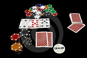 In Game Poker Holdem Royalty Free Stock Images - Image: 14053199