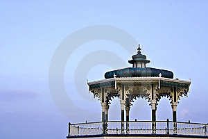 Ornate Victorian Bandstand Royalty Free Stock Photos - Image: 14057638