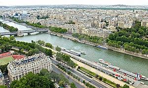 Paris View Royalty Free Stock Image - Image: 14057666