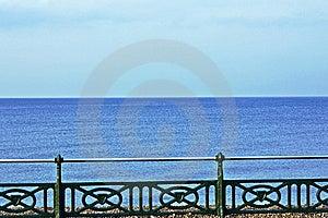 Sea And Railings  Stock Photography - Image: 14057882
