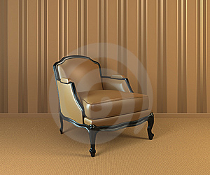Classic Armchair Royalty Free Stock Photos - Image: 14058348