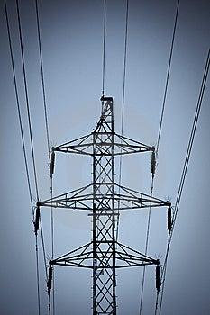 Power Pole Stock Image - Image: 14060401