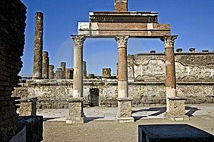 Pompeii Ruins Stock Photos - Image: 14062883