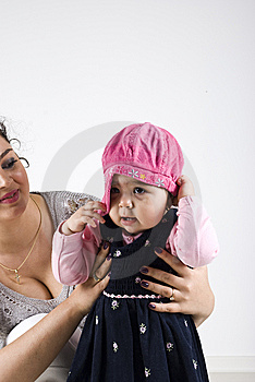 Mother With Toddler Girl Royalty Free Stock Images - Image: 14064439