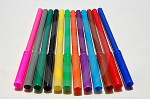 Color Pen Royalty Free Stock Photo - Image: 14066295