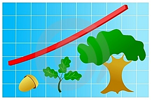 Graphic Of Growth Stock Photo - Image: 14067040