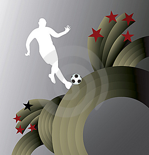Abstract Soccer Background. Stock Image - Image: 14067221