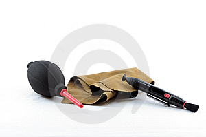 Cleaning Set For Dsrl Royalty Free Stock Photos - Image: 14070568