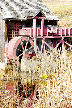 Grist Mill Stock Photography - Image: 14070812