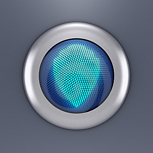 Protection Button Concept Stock Images - Image: 14071964
