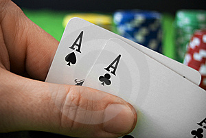 Top Pairs Of Aces Stock Photography - Image: 14075862