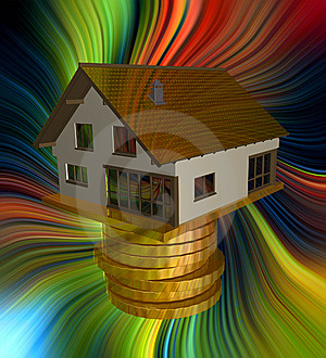 Profitable Home Investment Icon Stock Images - Image: 14078474
