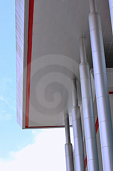 Part Of Modern Building Royalty Free Stock Photography - Image: 14079067