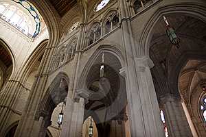 Cathedral In Madrid Stock Images - Image: 14080734
