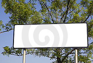 Commercial Sign Stock Photos - Image: 14081693
