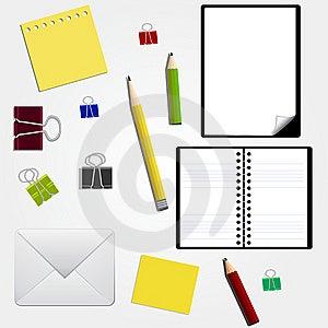 Stationery Royalty Free Stock Image - Image: 14082216