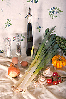 Still-life With Vegetables Stock Photos - Image: 14082843