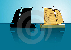 Asian Boat Stock Photo - Image: 14083280
