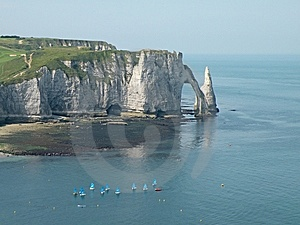White Cliffs Stock Photography - Image: 14084152