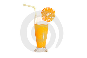 Orange Juice(with Clipping Path) Stock Image - Image: 14085121