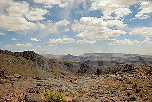 Dry Mountain Desert, Morroco Royalty Free Stock Photo - Image: 14085465
