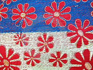 Embroidery Fabric Stock Images - Image: 14085654