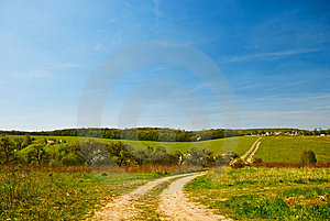 Spring Countryside Stock Image - Image: 14085671