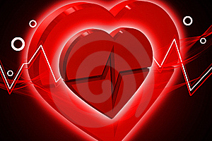 Heart ECG Stock Photos - Image: 14089783