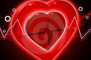 Heart ECG Stock Photos - Image: 14089783