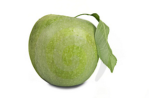 Fresh Green Apple Royalty Free Stock Photography - Image: 14091027