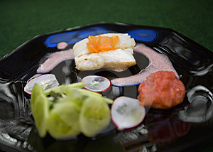 Fish Plate Royalty Free Stock Image - Image: 14091346