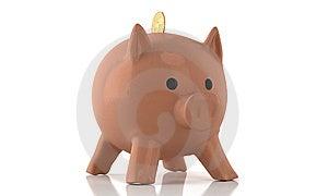 Porcelain Piggy Stock Image - Image: 14093901