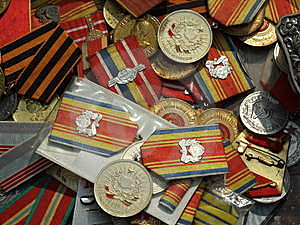 Romanian Medals Royalty Free Stock Photos - Image: 14096958