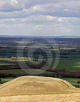 Dragon Hill Near White Horse Hill Stock Photos - Image: 14099023