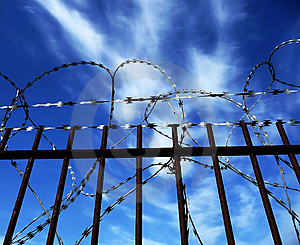 Razorwire Royalty Free Stock Photos - Image: 14099758