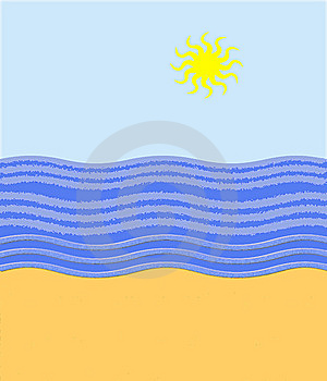 The Sea And Sun Royalty Free Stock Images - Image: 14099949