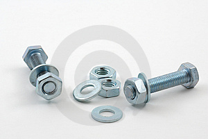 Nuts And Bolts 01 Royalty Free Stock Images - Image: 1411639