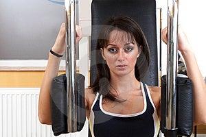 Istruttore di forma fisica Immagini Stock