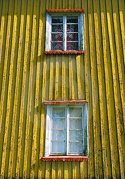 Grunge Windows Royalty Free Stock Photo - Image: 14100725