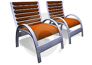 Deck Chairs Stock Photos - Image: 14102253