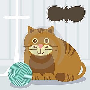 Cat Royalty Free Stock Image - Image: 14106186