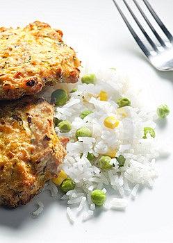 Baked Salmon Stock Photo - Image: 14107800