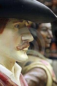 Cowboy Et Indien Images libres de droits - Image: 14108079