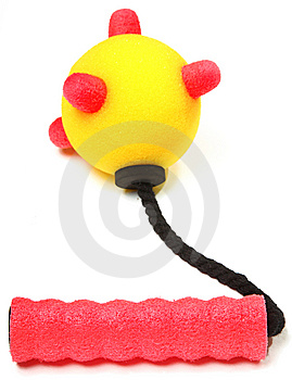 Foam Mace Weapon Royalty Free Stock Photo - Image: 14108735