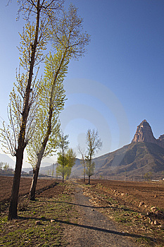 Mountains And Fields Royalty Free Stock Photo - Image: 14109255